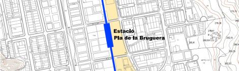 [Annex cartogràfic] Una alternativa de traçat dels FGC de Sabadell a Castellar del Vallès
