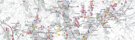 [Mapa] El Vallès, el motor productiu de Catalunya