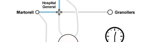 [VÍDEO] Un intercanviador a l'Hospital General de Catalunya reduiria 30 minuts de trajecte