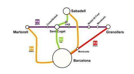 [Vídeo] Un intercanviador a Volpelleres facilitaria enormement la mobilitat dins el Vallès i la regió metropolitana