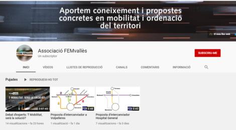Nou canal de Youtube de FEMvallès